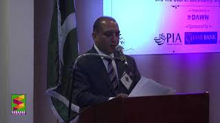 Saeed Hassan addresses PACE Awards 2017