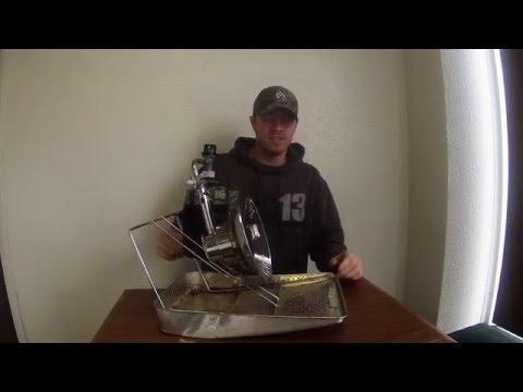 Ice fishing mr heater tip cooker sunflower model youtube for Ice fishing heater
