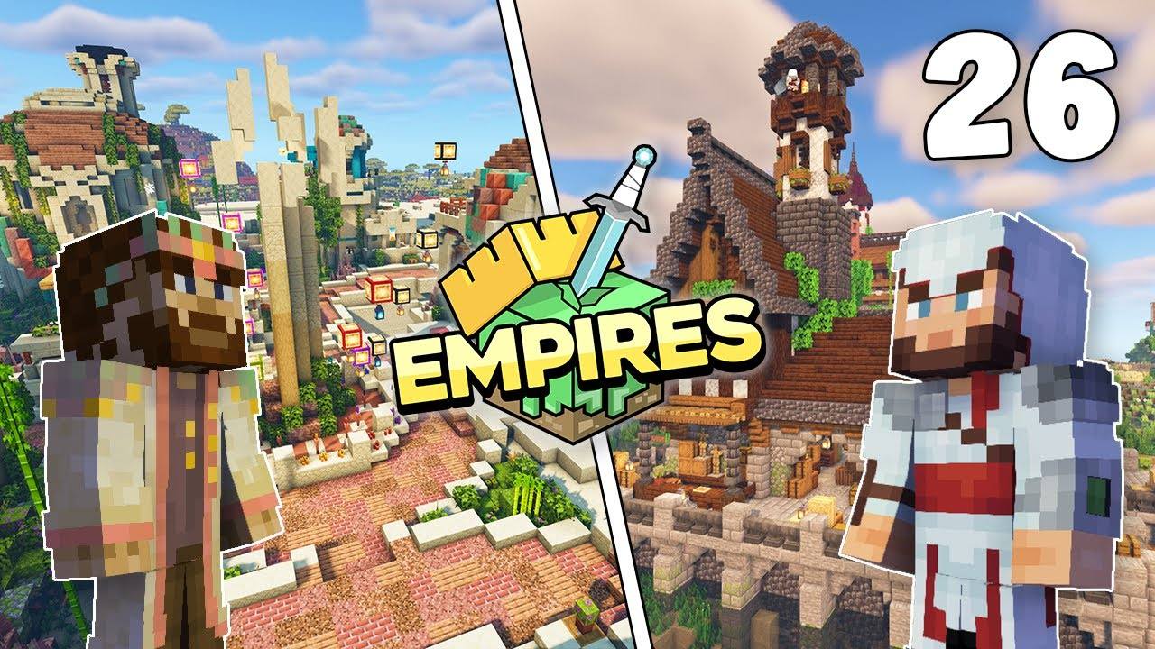 Empires SMP - THE DUNGEON MAZE & DEAL WITH PIXANDRIA!!! - Ep.26