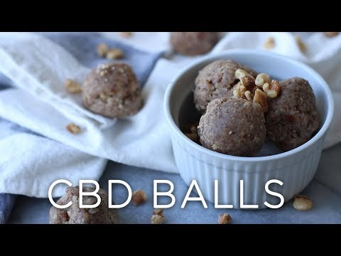 No Bake CBD Balls | for anxiety, stress, & pain relief
