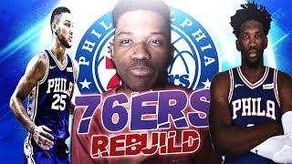 COMPLETING THE PROCESS | PHILADELPHIA 76ERS REBUILD | NBA 2K19 | KOT4Q