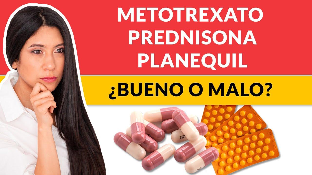 Metotrexato, Prednisona, Planequil para Artritis