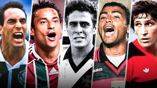 Os 10 MAIORES Artilheiros do Campeonato Brasileiro