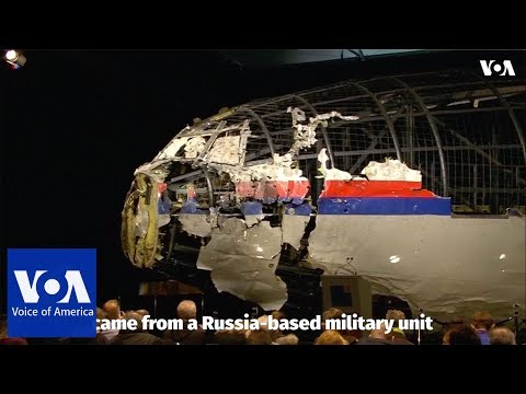 Investigators: Russian military missile downed Flight MH17