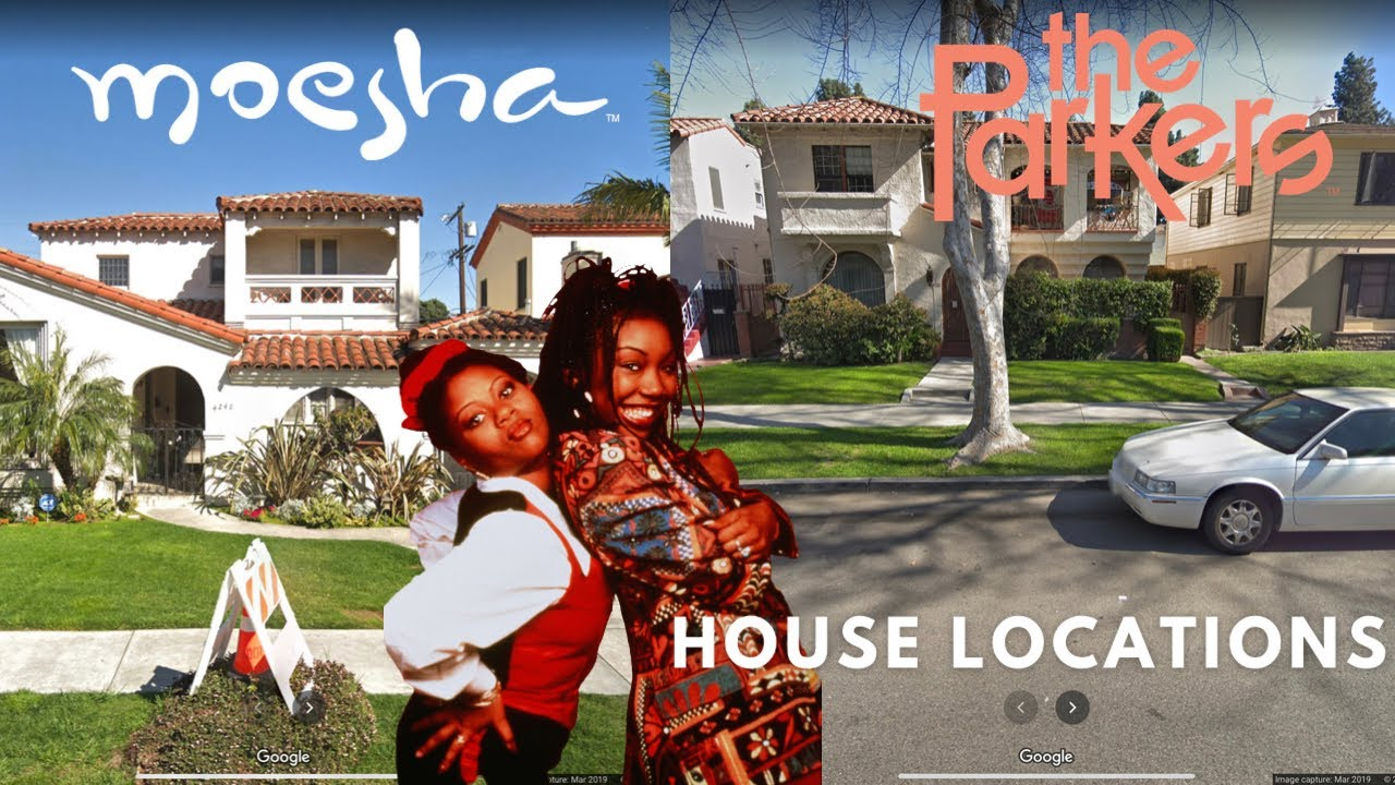 Moesha and The Parkers House Locations in 2020