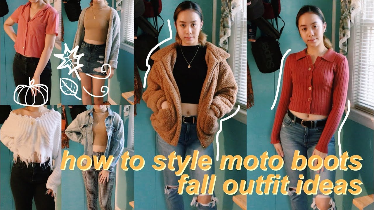 [VIDEO] – how to style boots! | FALL OUTFIT IDEAS 2019