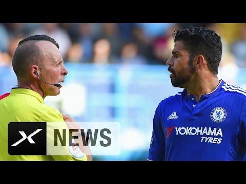 Diego Costa Spaltet Die Gemüter Von Jose Mourinho Und Arsene Wenger | FC Chelsea - FC Arsenal 2:0