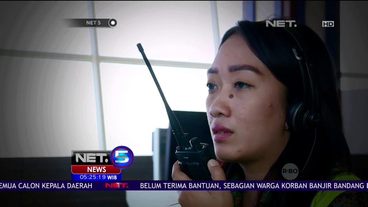 Perempuan Pemberani Sebagai Operator Crane Net5 Youtube