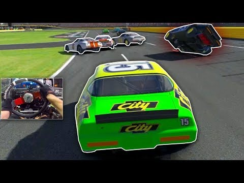 iRacing LIVE : Happy I Recorded This Close Race! [Street Stock Oval]