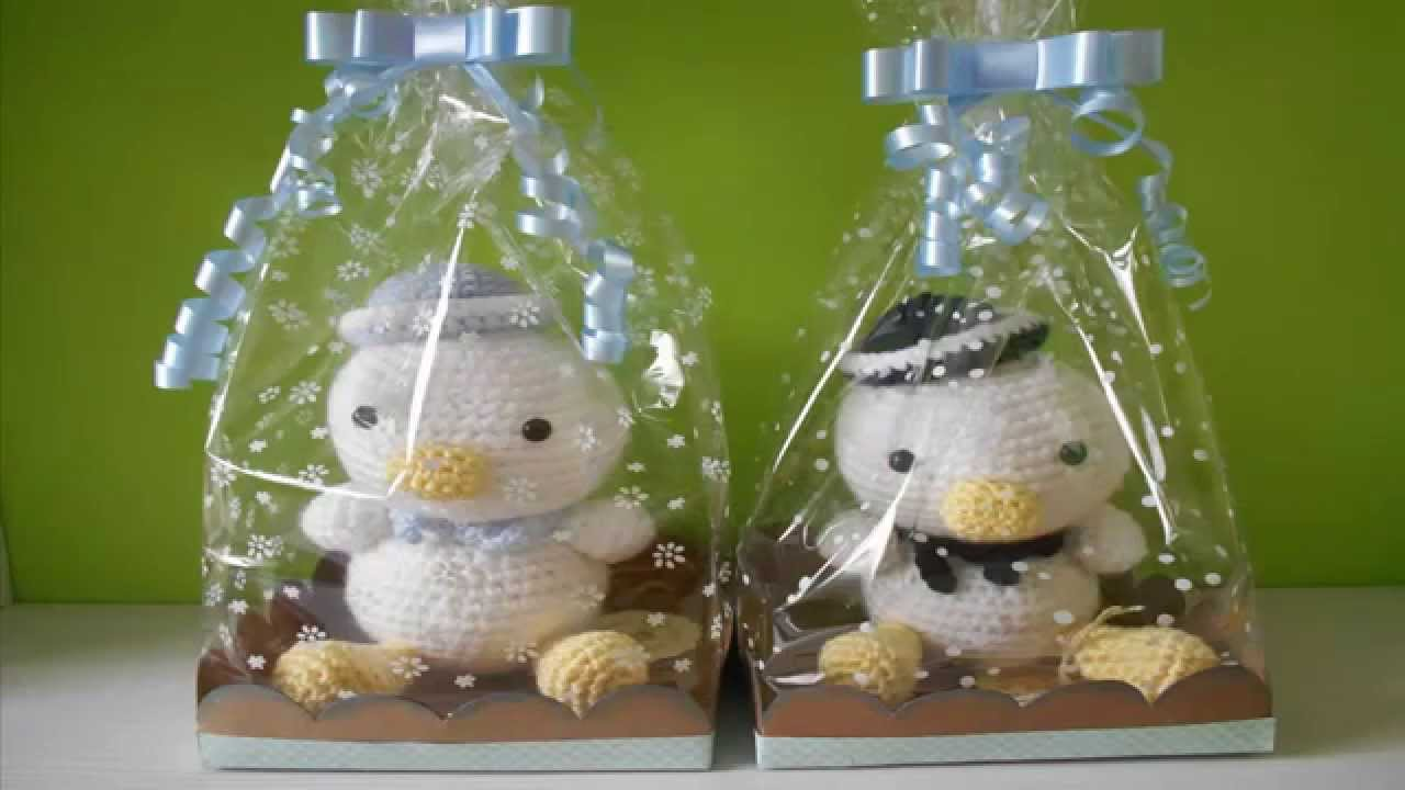 Tutorial packaging amigurumis: base tipo cesta y bolsa de celofán ...