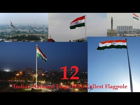 12 Indian National Flags With Tallest Flagpole | IndiaS Independence Day | Hyderabad People