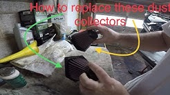 How to replace air filters BMW K1300S