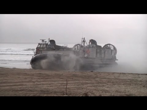 Marines assault beach - Exercise Steel Knight Live Coverage