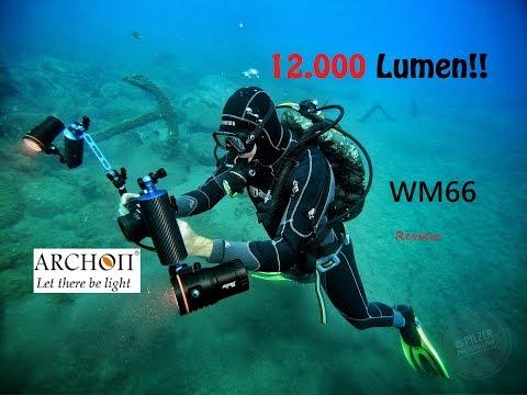 12.000Lumen Light!! Wow!!   REVIEW | Archon WM66