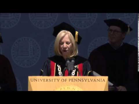 2014 University of Pennsylvania Commencement Ceremony