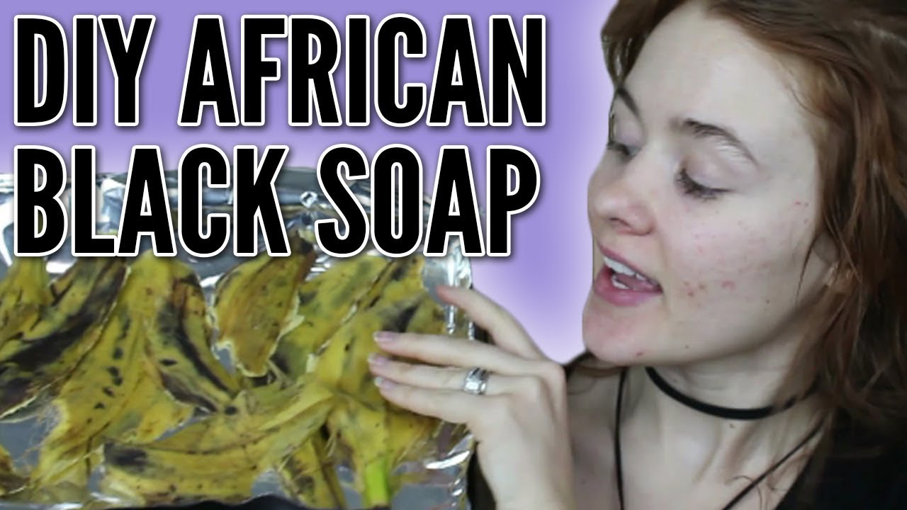 how to make african black soap