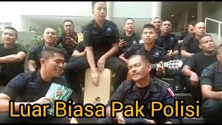 Lengkap Suara 1 2 3 Pak Polisi Bernyanyi Sai Anju Ma Au