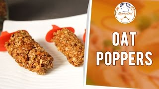 How To Make Healthy Oat Poppers By Shantanu Gupte