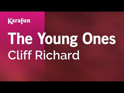 Karaoke The Young Ones  Cliff Richard *