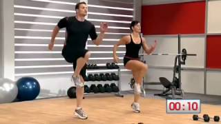 Get the full men's health circuit workout from health: http://goo.gl/xsx86 trainers david jack and jen widerstrom take you through workout, part 1....