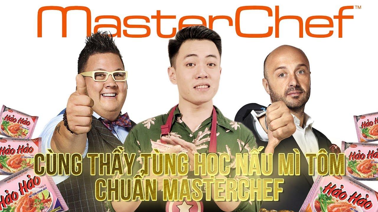 [The Daily Vlog] Vừa Nấu Mì Tôm Chuẩn Masterchef Vừa Học Tiếng Anh Với Thầy Tùng 9.0 IELTS