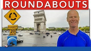 How to Drive Through Roundabouts :: Driving Lesson | Pass A Road Test Smart