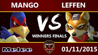 B.E.A.S.T 5 - C9 Mango (Falco) Vs. Leffen (Fox) - Melee Winners Final