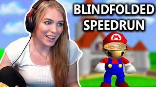 BLINDFOLDED MARIO 64 SPEEDRUN