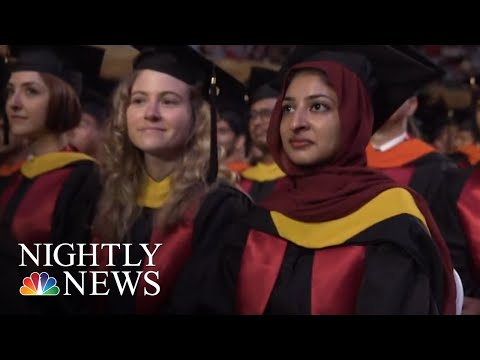 Commencement 2018: Our Annual Salute To This Year's Graduating Class | NBC Nightly News