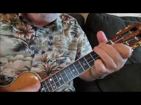 America The Beautiful-Chord/Melody arrangement by Ukulele Mike Lynch