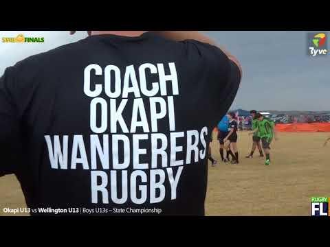 U13 Wellington vs Okapi State Final 2018