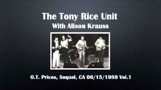 【CGUBA331】 The Tony Rice Unit with Alison Krauss 06/15/1989 Vol.1