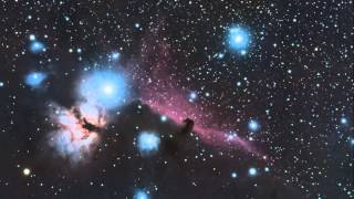Flame and Horse Head Nebula: Stock DSLR