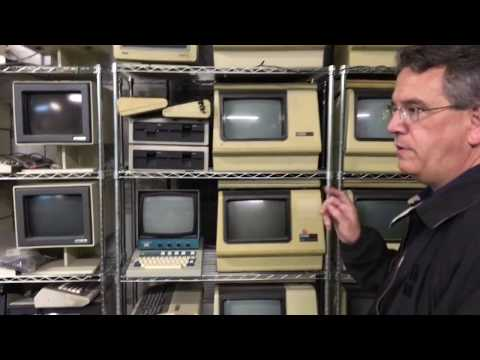 Richard Thomson's vintage computer collection