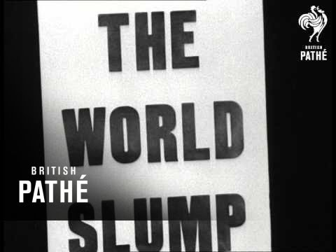 World Market Slump Placards (1929)