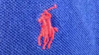 EASY WAY: How to spot a fake polo ralph lauren shirt