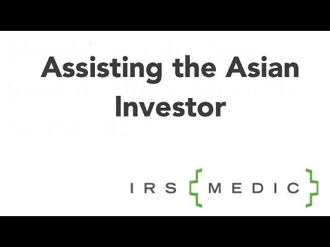 Assisting Asian investors in US financial system