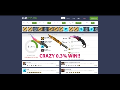 CSGO | Top 5 CRAZY Jackpot wins! 0.3% WIN!!!