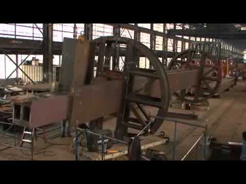 4 World Trade Center Steel Fabrication