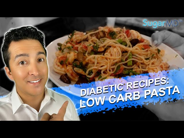 EAT THIS: PASTA DISH ANY DIABETIC CAN EAT WITHOUT COUNTING CARBS!