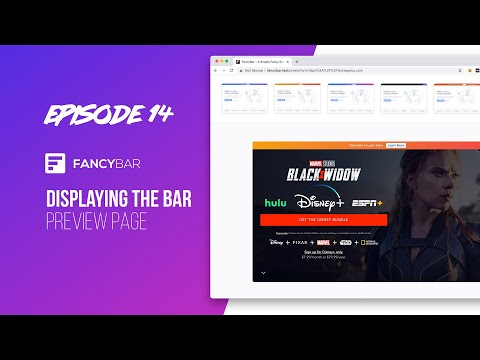 Displaying the Bar Preview Page - Building a SaaS - Episode 14