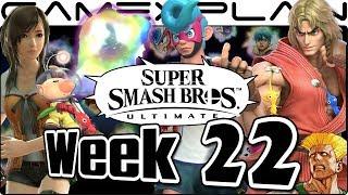 Smash Bros. Ultimate Update: Spirits, Ken, Olimar, Guile's Music, & NEW Assist Trophies! - Week 22