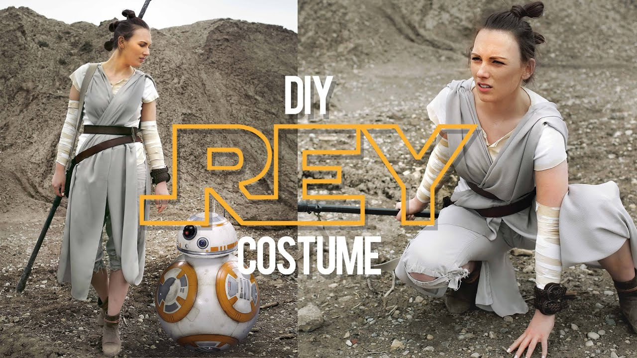 Diy rey costume star wars the sorry girls youtube solutioingenieria