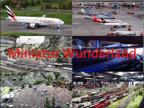 {MINIATUR WUNDERLAND} Tour of Switzerland, Knuffingen, America, Denmark, Hamburg & Behind the Scenes