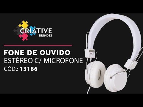Headfone Estéreo Com Microfone 13186 Personalizado