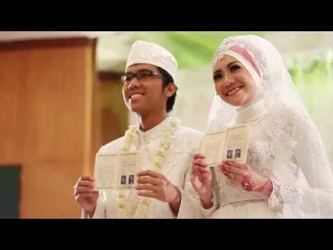 WEDDING KLIP  UNGU Kupinang kau dengan Bismillah