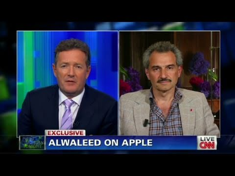 CNN Official Interview: Prince Alwaleed on Apple, News Corp.