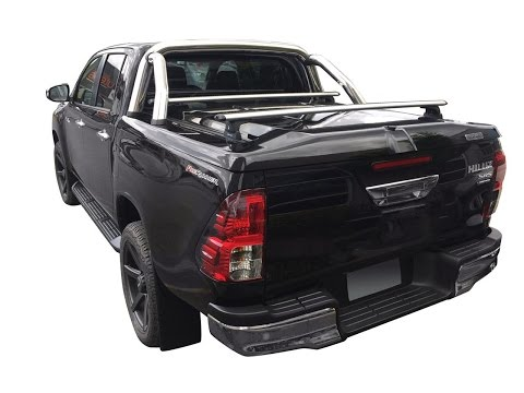 ROLL BAR INOX DOUBLE TUBE POUR TANGO SYSTEM TOYOTA HILUX 2016+ - Made in 4x4 fr