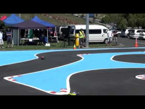 2011 New Zealand Electric onroad RC Nationals - Formula 1 - 3rd A Final