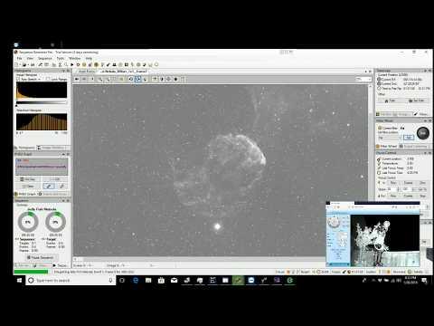 Video Log - Unattended Live Capture of Jellyfish Nebula, M81